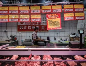 To show China's pork market amidst the African swine fever epidemic